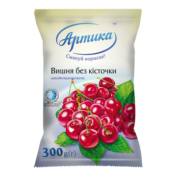 Cherry, pitted (stoned), premium quality (Ukraine)